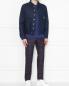 Куртка джинсовая с вышивкой Carne Bollente  –  МодельОбщийВид