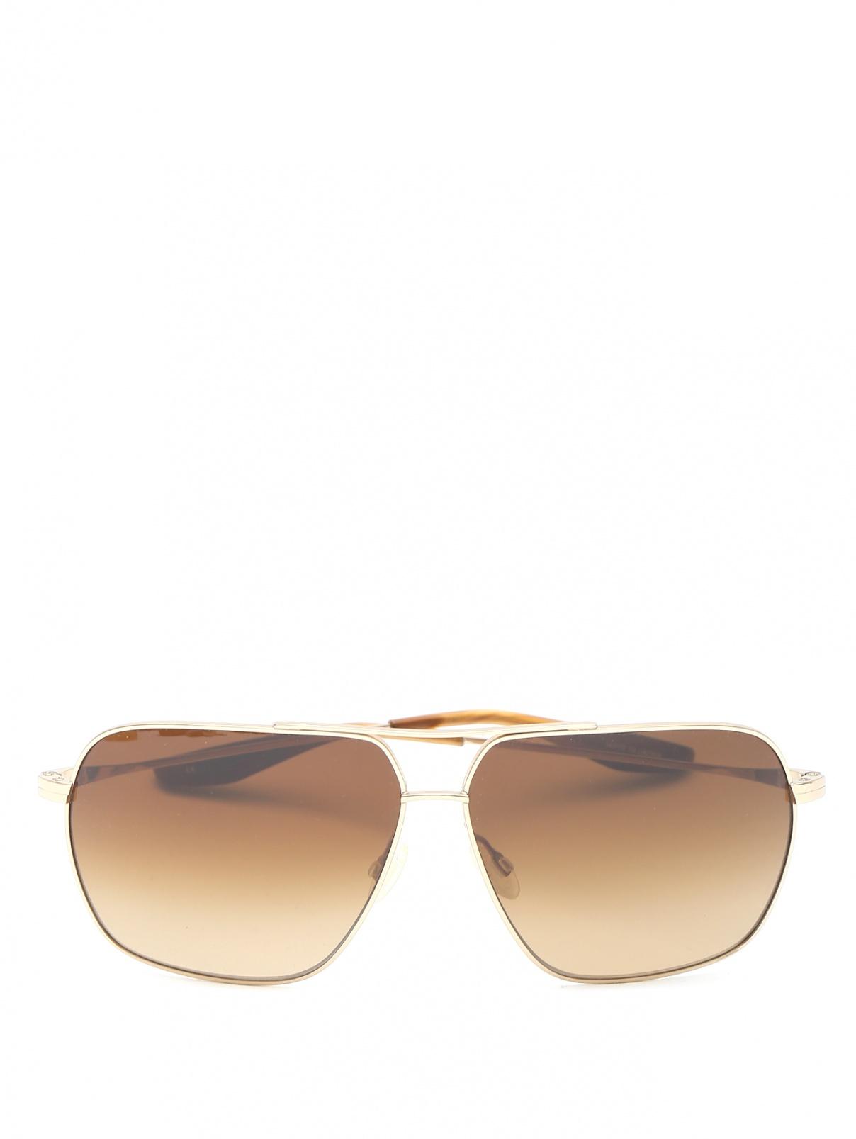 Солнцезащитные очки с металлической оправой Barton Perreira  –  Общий вид
