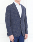 Пиджак с узором из шерсти и шелка Andrea Neri  –  Модель Верх-Низ