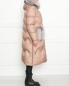 Пуховик на молнии с меховой отделкой Blanchett Goos  –  МодельВерхНиз2